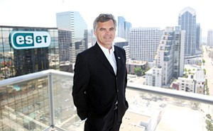 CEO Anton Zajac has helped ESET become one of the county's fastest-growing private companies.