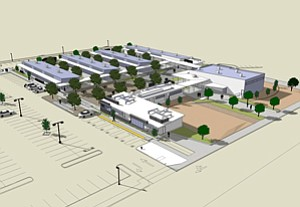 The $5.3 million Mesa College Design Center is a large-scale renovation of a former elementary school into 25,000 square feet of usable space, which will house classrooms, labs and offices.