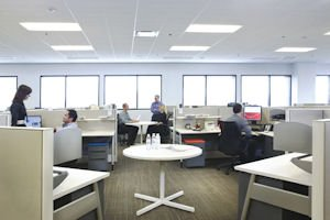 Beckman Coulter's Brea office: KPRS did tenant improvement work