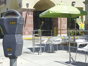 Space: Outdoor seating will require restaurants to provide additional parking.
