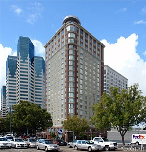 Though its lender foreclosed on it in late June, downtown's W Hotel is still open.