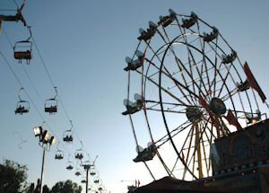OC Fair's ferris wheel: event expected to set record attendance levels