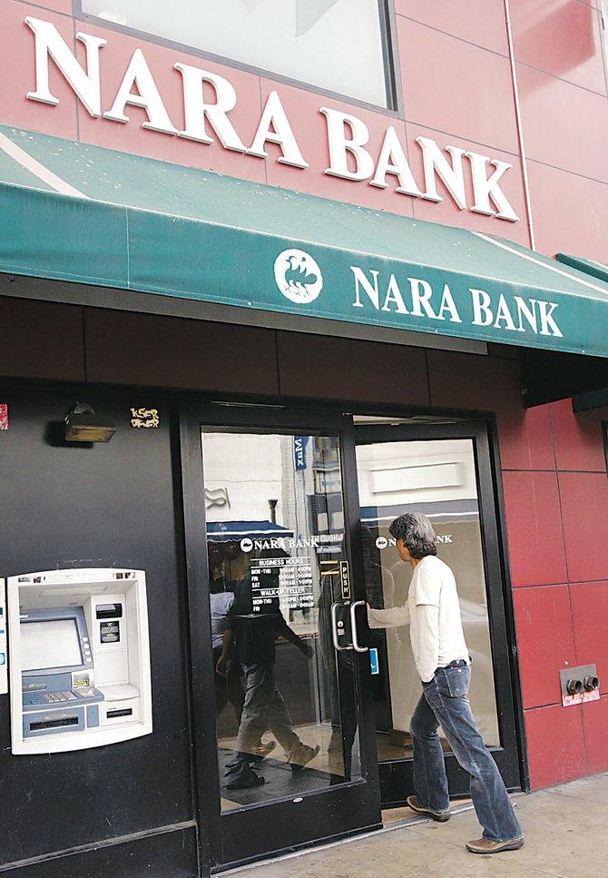 Nara Bank branch.