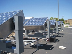 Energy Innovations, a solar energy company, has moved its headquarters from Idealab in Pasadena, above, to the Poway Business Park.