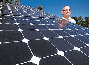 Founder: Michael Kahn, founder of Kahn Solar, used to be in the air conditioning business.