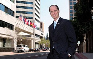 Sean Barr, the Canadian consul and trade commissioner for San Diego, says Canada has a keen interest in the San Diego region because of the area's reputation as a science and technology powerhouse.