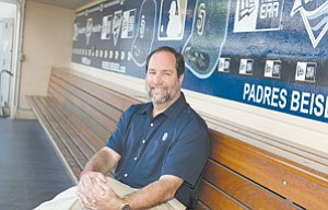 Jeff Moorad, CEO of the San Diego Padres, is looking to buy the Portland Beavers and move the team closer to San Diego.