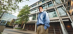 Yuvraj Agarwal is principal architect of the Energy Dashboard, which is helping UC San Diego lower its energy costs.