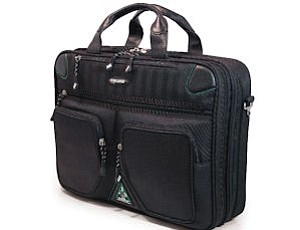 Mobile Edge bag: material made of corn polymers