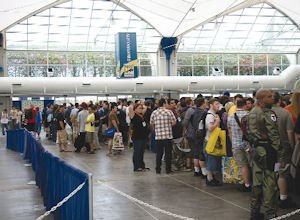 San Diego Convention Center crowd: Comic-Con brought $163 million to city this year