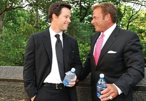 "Wahlberg, Fisher: ""I decided I needed to be part of this company,"" Wahlberg says"