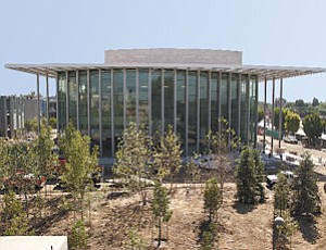 VPAC: The Valley Performing Arts Center on the Cal State Northridge campus is nearing completion but fundraising lags.