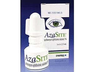 Inspire's AzaSite drug: treats pinkeye