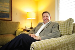 Michael Slosser is a vice president and managing director with Destination Hotels & Resorts, a Colorado-based company that manages L'Auberge Del Mar and other local luxury properties.