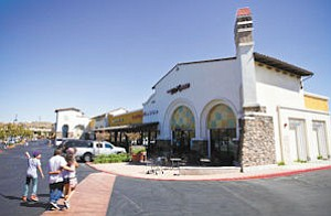 Site: Tesoro Village in Valencia is one of two local shopping centers for sale.