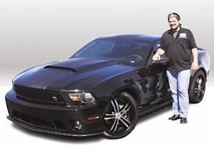 DUB Edition: Galpin gets car branded by magazine.
