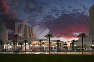 A $97 million overhaul of Marriott Hall is among more than $180 million in renovations on tap at the bayfront San Diego Marriott Hotel & Marina during the next three years.