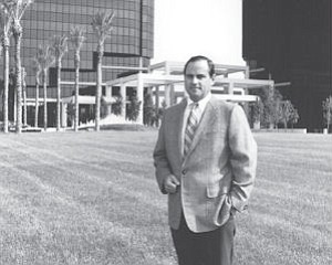 "Koll in 1980s at Koll Center Irvine, now Irvine Towers: He ""came up with the idea for the high-rise (office market) near the airport,"" former executive says"