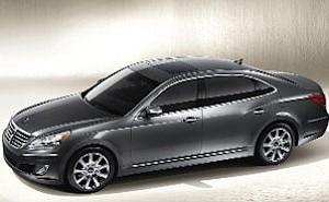 Hyundai Equus: priced at estimated $60,000