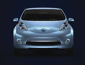 Nissan Leaf: electric car will be on display next month at the Orange County Auto Show