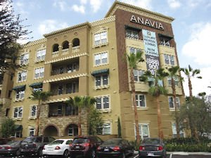 Apartments near Angel Stadium: helped boost Anaheim's population