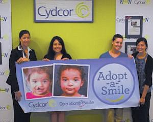 Campaign: Cydcor named Operation Smile its official cause of the year.