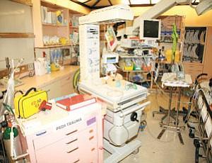 Station: This pediatric room is now part of Northridge's Level II Trauma Center.