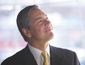 Entrepreneur: Peter Dameris' strategy for his staffing firm is to reach $1 billion in revenues by 2015.