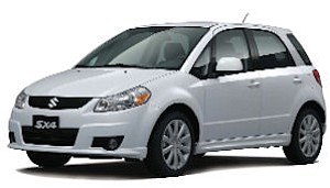 Suzuki's 2011 SX4 SportBack: given a whirl by Tim Allen, Kid Rock, others