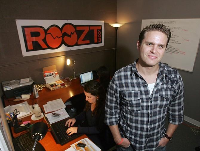 Roozt CEO Brent Freeman at the company's El Segundo office.