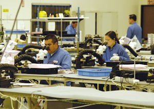 Making circuit boards at Multi-Fineline in Anaheim: most production now done in China