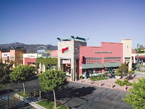 Center: Janss Marketplace in Thousand Oaks is a local NewMark Merrill property.