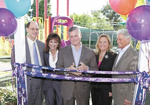 Hasbro Gift: The Help Group received a new playground from the toymaker.