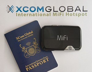 XCom Global International rents mobile routers and modems to travelers on a daily basis.