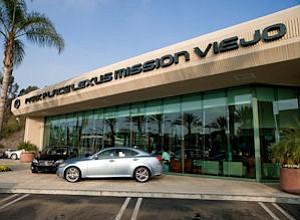 Mission Viejo Lexus dealer: now South County Lexus at Mission Viejo