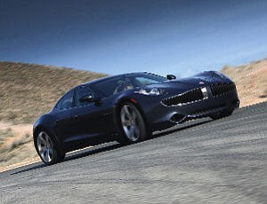 Fisker's hybrid sedan:  luxury automaker on the Business Journal's list of companies to watch in 2011
