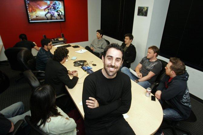 CEO Brandon Beck at Riot Games.