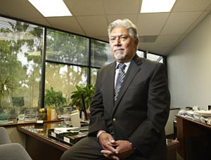Steven Escoboza, president and CEO of the Hospital Association of San Diego and Imperial Counties, says reimbursement cuts by the government will reduce revenues for hospitals by tens of millions of dollars in the next five to 10 years.