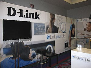 "D-Link at 2010 show: ""going much bigger this year than we did last year,"" company's Kelly says"