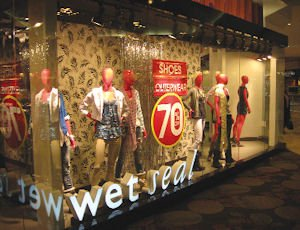 Wet Seal's Brea store: reopened in July