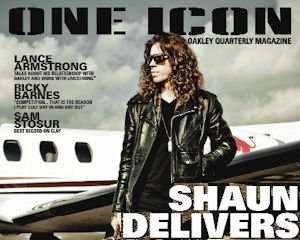 One Icon: electronic magazine highlights athletes, sports tied to Oakley