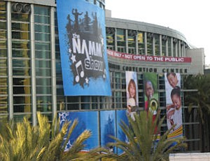 NAMM: music industry event kicked off Anaheim Convention Center's 2011 trade show lineup last week with about 90,000 in attendance