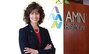 Susan R. Salka is the CEO of AMN Healthcare. AMN and other temporary health care staffing companies might benefit from the overhaul of the nation's health care system.