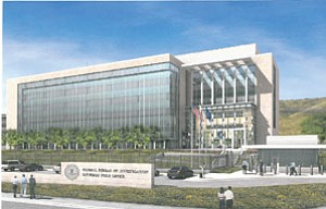 The FBI will eventually relocate its local field office to a $100 million campus to be built in San Diego's Sorrento Mesa area.