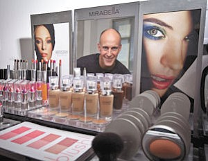 Beauty: Mirabella keeps its product line competitive with upgrades. The company discontinued 23 shades of its eye colors and replaced them, said owner John Maly.