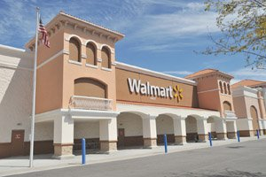 Wal-Mart, recently locked in a battle with the city over superstore approval regulations, has pledged to build new stores in San Diego over the next five years.