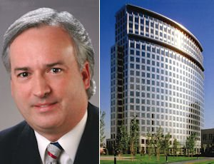 Basombrio: heads Southern California office; Plaza Tower: Dorsey taking top floor, part of another