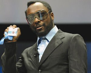 Will.i.am: employee badge for Intel