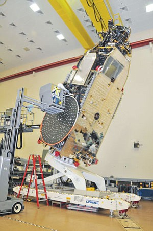 ViaSat expects commercial business to increase as the satellite ViaSat-1 enters service. A July launch date is planned; service would start in the fall.
