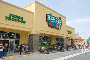 Henry's and Sprouts stores will all be under the Sprouts Farmers Market banner, after an acquisition by Apollo Management LP closes in the second quarter. Both grocery chains were started by members of the Boney family of San Diego.